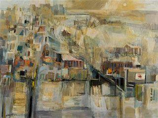 Hilda Rubin, (American, 20th century), Untitled