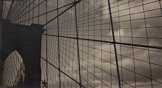 Fred Zinnemann, (American, 1907-1997), Brooklyn Bridge #6, 1931