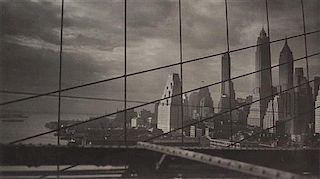 Fred Zinnemann, (American, 1907-1997), East River, 1931