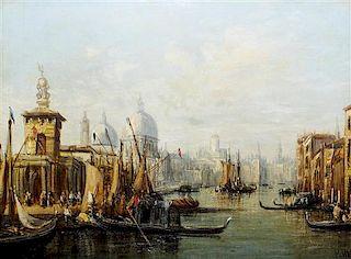 * Francis Moltino, (Italian, 1818-1874), Venice
