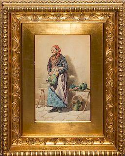* Artist Unknown, (Italian, 19th century), Old Woman