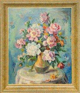 * Francesco Spicuzza, (American, 1883-1962), Floral Still Life