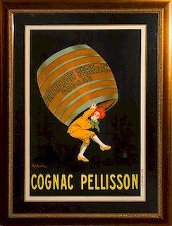 * Leonetto Cappiello, (Italian, 1875-1942), Cognac Pellison