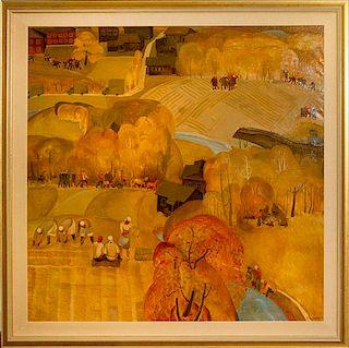 * Smirnov, N.M., (Russian, 20th century), FALL