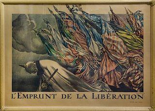 Able Faivre, (French, 1867-1945), Emprunt de la Liberation, 1918