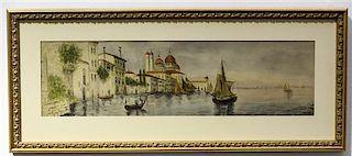 Artist Unknown, (20th century), Venetian Scene