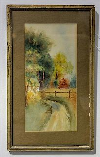 Artist Unknown, (20th century), Country Landscape