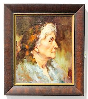 Artist Unknown, (20th century), Portrait of a Lady