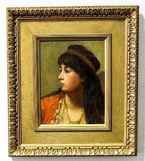 Mary MacArthur, (British, 19th/20th century), Portrait of a Lady