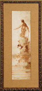 Antimo Beneduce, (20th century), Sculptural Figure