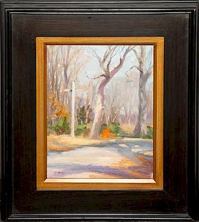Jayne Bellows, (American, 20th century), Landscape