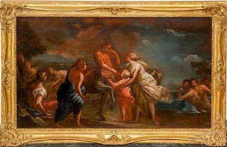Italian School, (19th century), The Education of Achilles