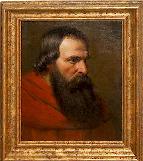 Artist Unknown, (British, 20th century), Portrait of a Man