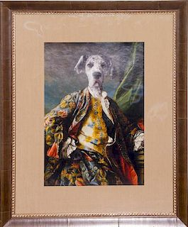 Artist Unknown, (20th century), Portrait of a dog