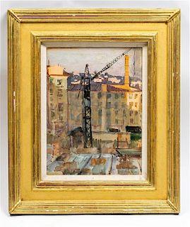 Mikhail S. Baroyanz, (Russian, 20th century), Construction