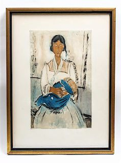 * Jacques Villon, (French, 1875-1963), L'Italienne