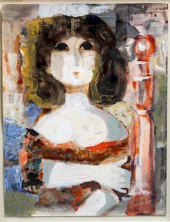 * Jordi Pia Domenech, (Spanish, 1917-1992), Bust of a Woman