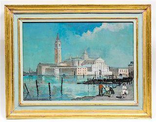 * Hubert John Hughes, (20th century), San Giorgio Maggiore, Venice