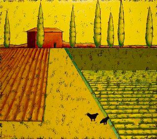 * David Arms, (American, 20th century), Tuscany