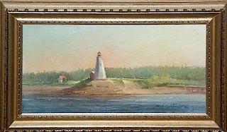 * Joseph Sulkowski, (American, b. 1951), Lighthouse, 1982