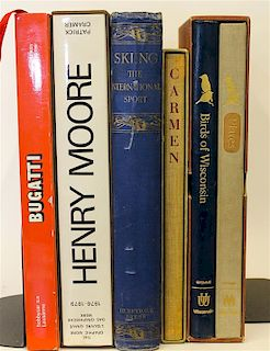 A Group of Coffee Table Books