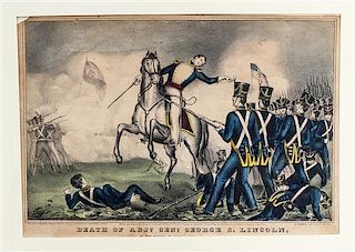 * A Group of American Prints, , most Kellog, some hand colored, 20 total.