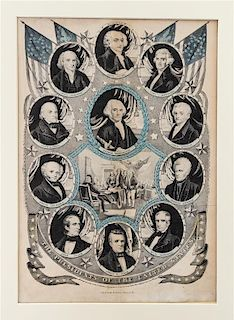 * A Group of American Prints, , 20 total.