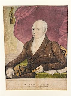 * A Group of American Prints, , 4 total.
