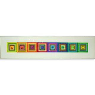 Frank Stella Style Lithographs