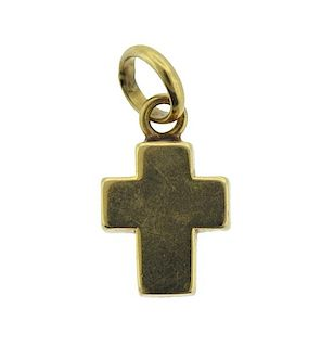 Tous 18K Gold Cross Pendant
