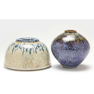 NC Pottery, Tom Turner, Two Pieces