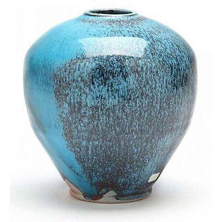 NC Pottery, Ben Owen lll, Oriental Translation Vase