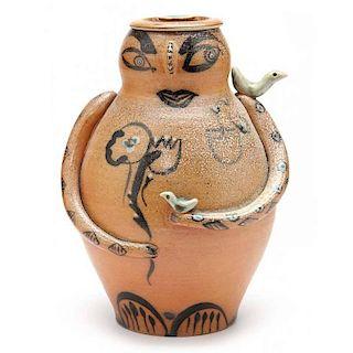 NC Folk Pottery, Fred Johnston, Jar