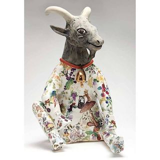 NC Pottery, Carol Gentithes, Animal Figural