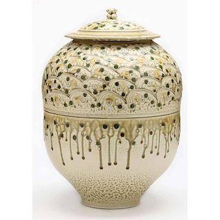 Studio Pottery, Tom Turner Pottery, Lidded Jar