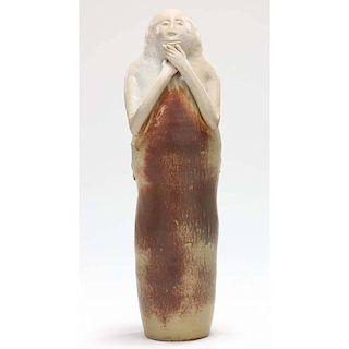 NC Pottery,Tom Suomalainen, Female Sculpture