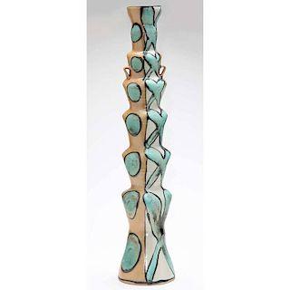 NC Art Pottery, Suze Lindsay, Tall Vessel