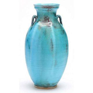 NC Pottery, Ben Owen III, Tang Style Vase