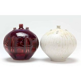 NC Art Pottery, Tom Turner, Two Pieces