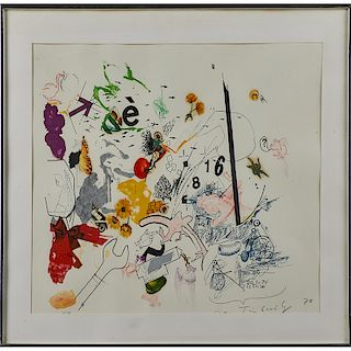 JEAN TINGUELY (Swiss, 1925-1991)