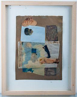 "Diane Townsend ""Heavengate"" Metallic Collage"