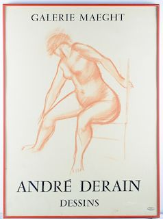 Andre Derain Dessins Galerie Maeght Litho