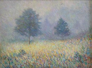 LEE, Wing. Oil on Canvas. Impressionistic