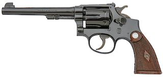 Smith and Wesson K-22 Outdoorsman Hand Ejector Revolver