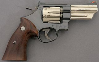 Rare Smith and Wesson .357 Hand Ejector Revolver