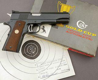 Colt Gold Cup National Match Semi-Auto Pistol