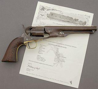 U.S. Colt Model 1860 Fluted Army Percussion Revolver