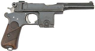 Bergmann Model 1910 Semi-Auto Pistol by Pieper