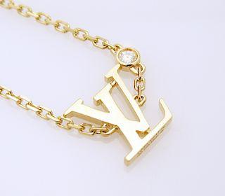 LOUIS VUITTON IDYLLE BLOSSOM LV BRACELET, YELLOW GOLD AND DIAMOND