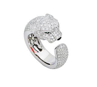 Cartier Panthere de Cartier Diamonds, Emeralds, Onyx